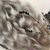 Материалы для творчества ручной работы. Ярмарка Мастеров - ручная работа Волосы для кукол натуральные из шерсти козы (25см). Handmade.