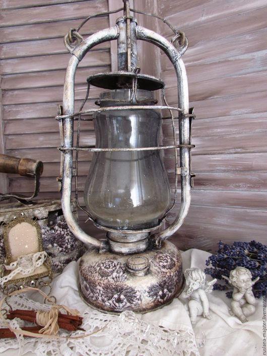 """Освещение ручной работы. Ярмарка Мастеров - ручная работа. Купить Винтажный фонарь """" Мантилья"""". Handmade. Фонарь, винтажный стиль"""