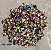Материалы для творчества handmade. Livemaster - original item 25pcs spacer Beads 4mm VX00030 Czech Fire Polished beads. Handmade.