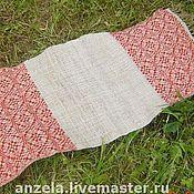 Для дома и интерьера ручной работы. Ярмарка Мастеров - ручная работа тканые полотенца. Handmade.