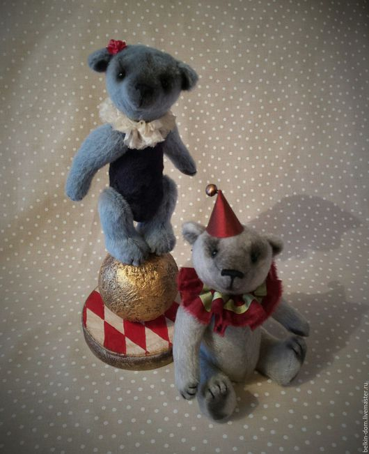 Мишки Тедди ручной работы. Ярмарка Мастеров - ручная работа. Купить Мишка Девочка на Шаре - 14 см - в подарочной коробке. Handmade.