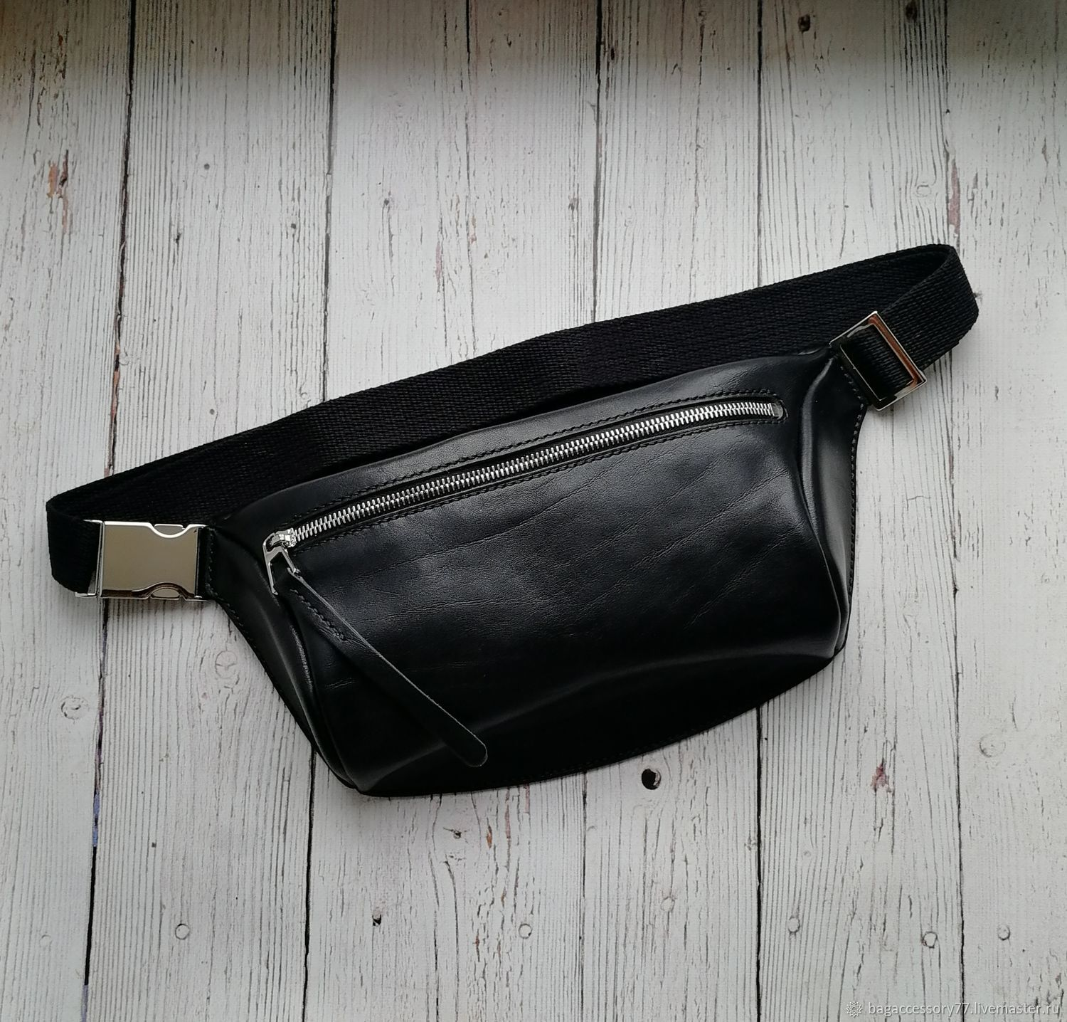 waist bag genuine leather, Waist Bag, Moscow,  Фото №1