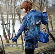 """Одежда ручной работы. Ярмарка Мастеров - ручная работа Куртка """"Дорога в Лондон"""". Handmade."""