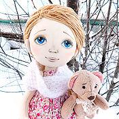 Куклы и игрушки ручной работы. Ярмарка Мастеров - ручная работа Роза. Игровая, интерьерная, текстильная кукла. Handmade.