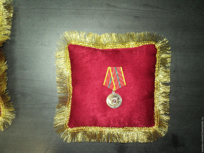 Подушечка для медали (ордена) 20х20 см https://www.instagram.com/voentorgomega/