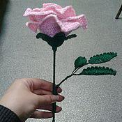 Подарки к праздникам ручной работы. Ярмарка Мастеров - ручная работа большая роза. Handmade.