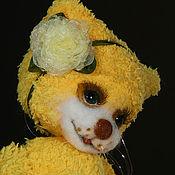 Куклы и игрушки ручной работы. Ярмарка Мастеров - ручная работа Кошечка Алиса (21 см). Handmade.