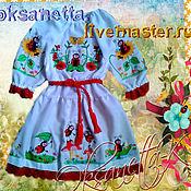 Работы для детей, handmade. Livemaster - original item Dress baby