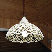 Для дома и интерьера handmade. Livemaster - original item Lamp Balls of creamy ice-cream on the suspension. Handmade.
