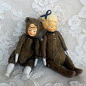 Куклы и игрушки ручной работы. Ярмарка Мастеров - ручная работа Теддидольки. Handmade.