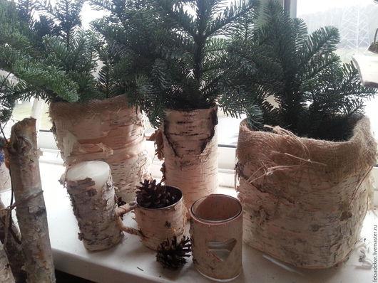 Оформление при помощи бересты для создания неповторимой праздничной атмосферы в стиле Рустик.  Большой выбор эко- декора из бересты.