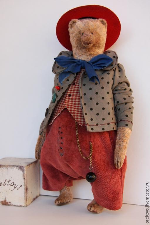 Ольга Орёл, Орёл Ольга, oreltoys, авторская ручная игрушка, мишка Тедди.