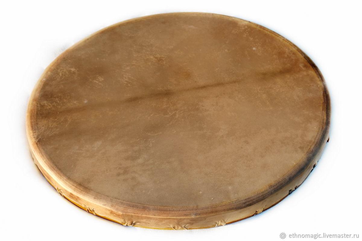 Shaman's tambourine 70 cm, Tambourine, Moscow,  Фото №1