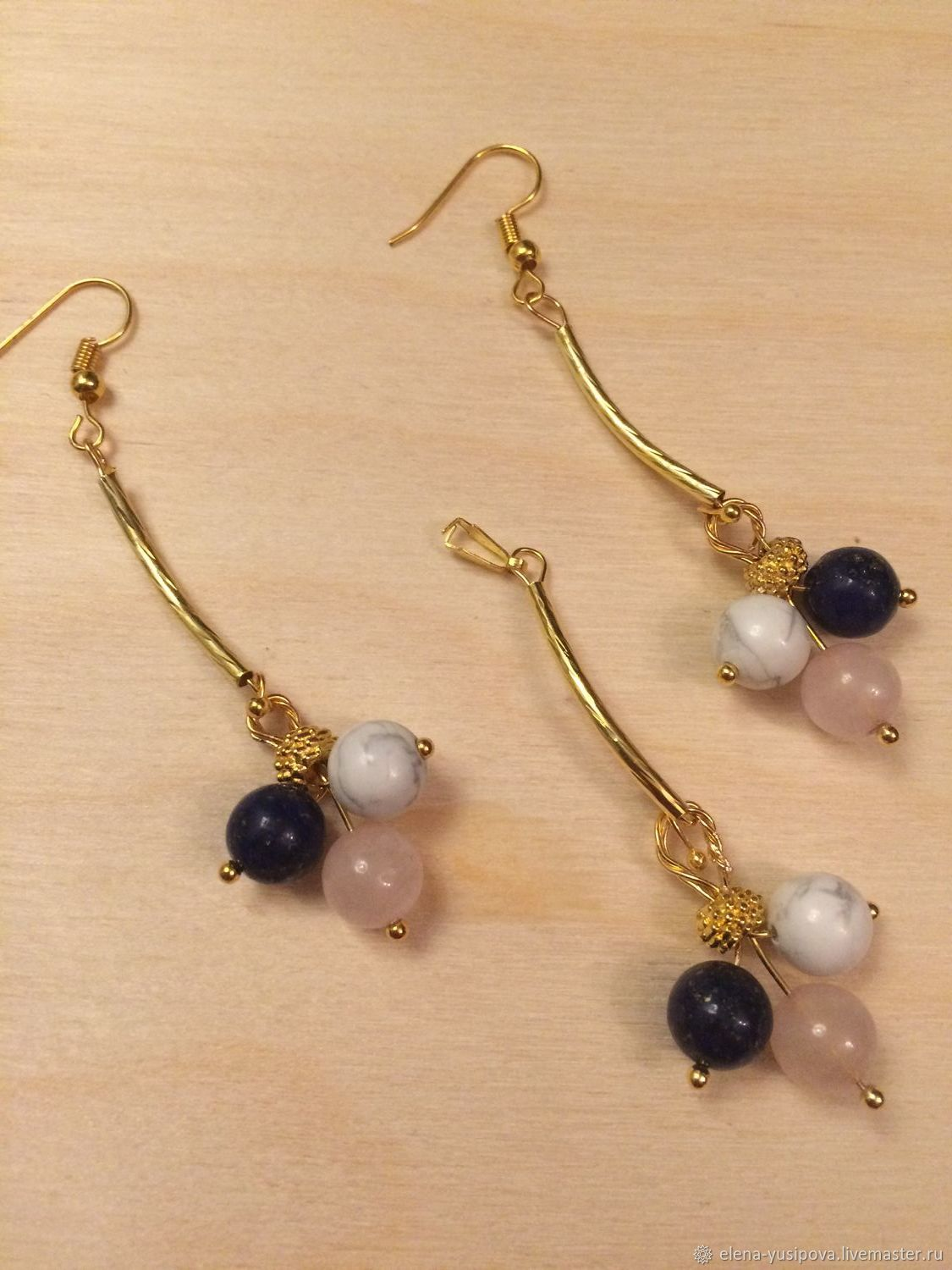 Set Berry mix, Earrings, Moscow,  Фото №1