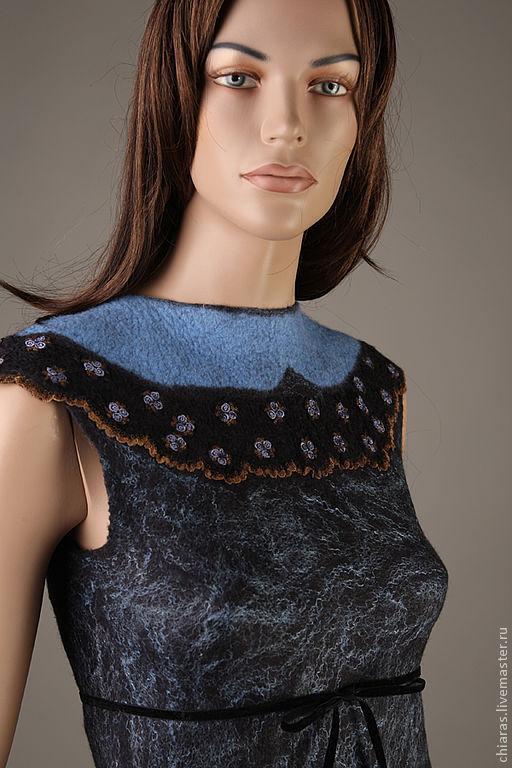 """Платья ручной работы. Ярмарка Мастеров - ручная работа. Купить Платье ручной работы """"blueberry flower"""". Handmade. Handmade dress"""
