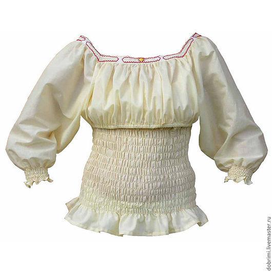 Блуза для кормления с орнаментом