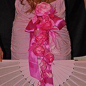 """Свадебный салон ручной работы. Ярмарка Мастеров - ручная работа Гирлянда из роз """"Розовые сны"""". Handmade."""