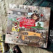 Сувениры и подарки ручной работы. Ярмарка Мастеров - ручная работа Фотоальбом любимому мужчине - Время для счастья. Handmade.