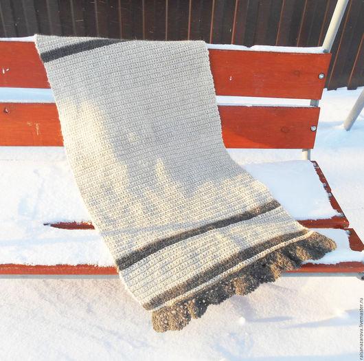 Текстиль, ковры ручной работы. Ярмарка Мастеров - ручная работа. Купить Коврик-дорожка вязаный в деревенском стиле Уютный. Handmade.