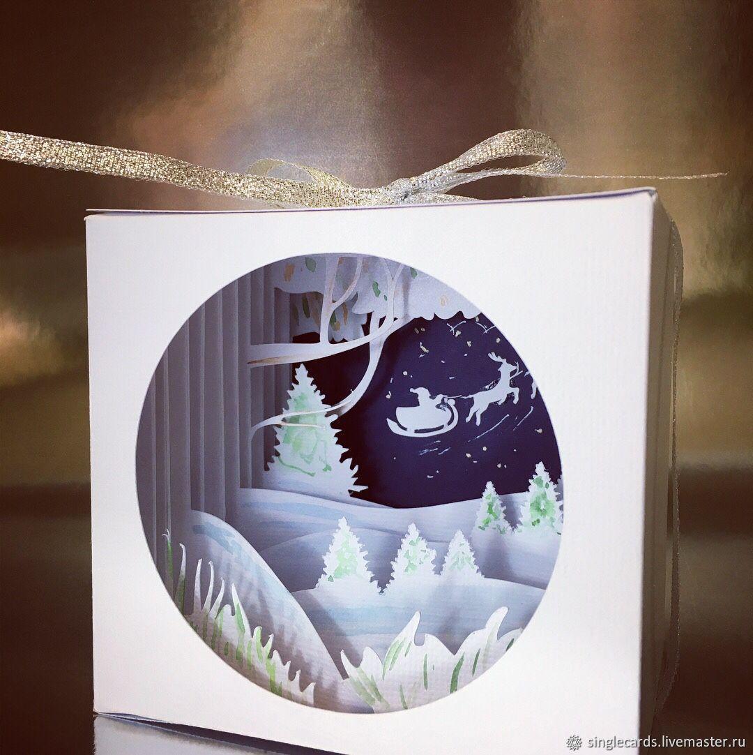 аксессуар стильный рождественская открытка многослойная шаблоны как