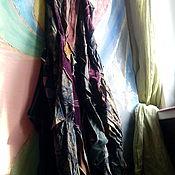 Одежда ручной работы. Ярмарка Мастеров - ручная работа бохо-платье ВИШНЯ В ШОКОЛАДЕ. Handmade.