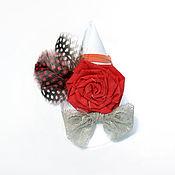 """Работы для детей, ручной работы. Ярмарка Мастеров - ручная работа Детская повязка """"Юная роза"""". Handmade."""