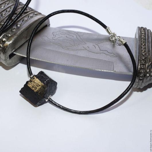 Украшения для мужчин, ручной работы. Ярмарка Мастеров - ручная работа. Купить Темные измерения. Мужской браслет с шерлом кристалл. Handmade.