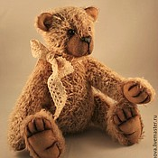 Куклы и игрушки ручной работы. Ярмарка Мастеров - ручная работа Томми. Классический медвежонок-тедди. Родом из детства.. Handmade.
