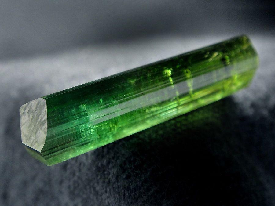 Кристаллы турмалина - верделита из Бразилии. Всего 5 штук, Минералы, Москва,  Фото №1