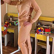 Одежда ручной работы. Ярмарка Мастеров - ручная работа Костюм брючный вязаный. Handmade.