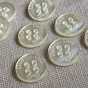 Материалы для творчества handmade. Livemaster - original item DG style buttons. Handmade.