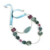 Украшения handmade. Livemaster - original item Agate necklace