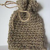 Для дома и интерьера ручной работы. Ярмарка Мастеров - ручная работа ЭКО-МОЧАЛКА (вязаный мешочек для мыла). Handmade.