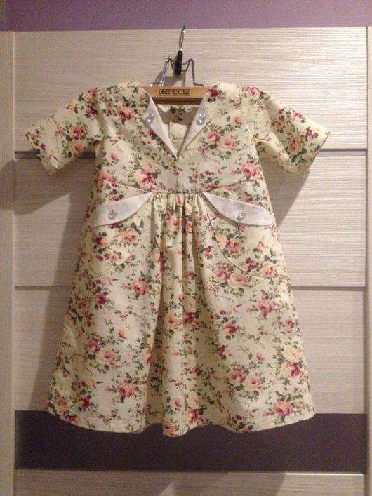 Одежда для девочек, ручной работы. Ярмарка Мастеров - ручная работа. Купить Платье. Handmade. Платье, на девочку 2 лет