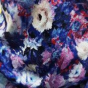Ткани ручной работы. Ярмарка Мастеров - ручная работа ткань штапель твил     Ф 25.4. Handmade.