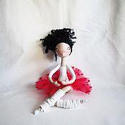 Куклы и игрушки ручной работы. Ярмарка Мастеров - ручная работа Влюбленная балерина Лючия. Handmade.