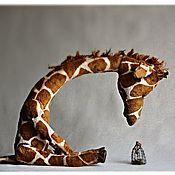 Куклы и игрушки handmade. Livemaster - original item Giraffa. Handmade.