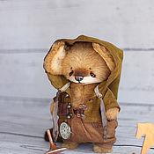 Куклы и игрушки ручной работы. Ярмарка Мастеров - ручная работа Бенедикт лисенок  17.5см. Handmade.