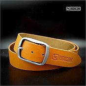 Аксессуары handmade. Livemaster - original item Orange belt. Handmade.