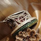 "Сувениры и подарки handmade. Livemaster - original item Jewelry box for rings with a mirror ""House of the devil"". Handmade."