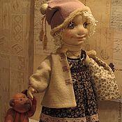 Куклы и игрушки ручной работы. Ярмарка Мастеров - ручная работа Кукла текстильная интерьерная Марта. Handmade.