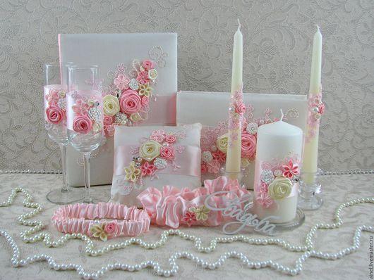 Набор свадебных аксессуаров «Романтика»