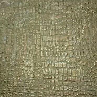 Diseño y publicidad manualidades. Livemaster - hecho a mano La decoración de la superficie de la pared de yeso en forma de piel de cocodrilo verde. Handmade.