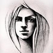 Картины и панно ручной работы. Ярмарка Мастеров - ручная работа Рисунок. Маугли.. Handmade.