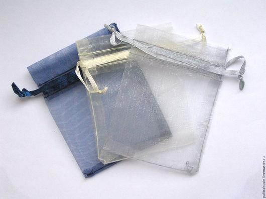 Упаковка ручной работы. Ярмарка Мастеров - ручная работа. Купить Мешочки из органзы упаковка 7 х 9 мм. Handmade.