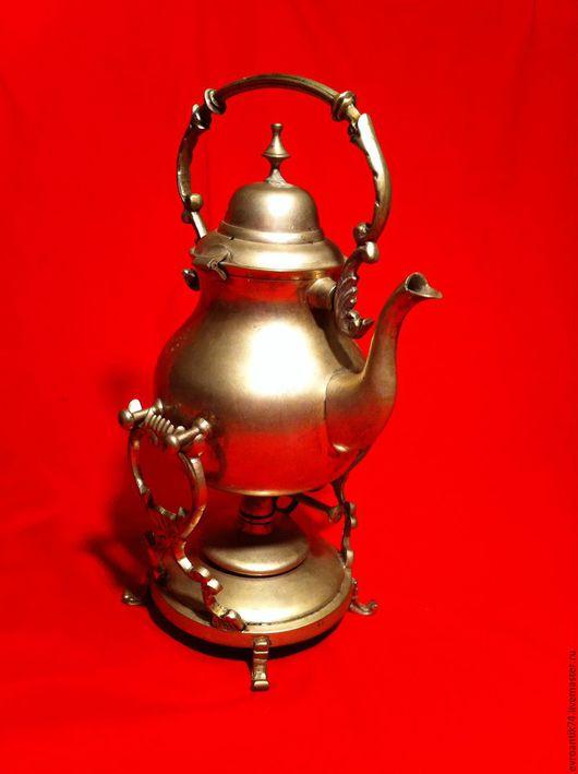 Винтажные предметы интерьера. Ярмарка Мастеров - ручная работа. Купить Старинная бульотка Франция латунь серебрение. Handmade. Старинная бульотка