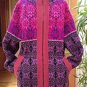 """Одежда ручной работы. Ярмарка Мастеров - ручная работа Куртка вязаная """"Яркая"""". Handmade."""