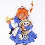 Куклы и игрушки ручной работы. Ярмарка Мастеров - ручная работа Пеппи Длинный чулок. Пеппилотта.. Handmade.