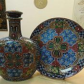 Наборы посуды ручной работы. Ярмарка Мастеров - ручная работа Мексиканские мотивы. Handmade.