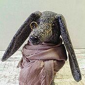 "Подарки к праздникам ручной работы. Ярмарка Мастеров - ручная работа Собака-такса ""Крапчатая"". Handmade."